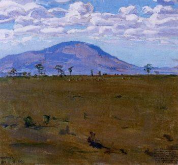 Wakamba Plain | Akseli Gallen Kallela | oil painting