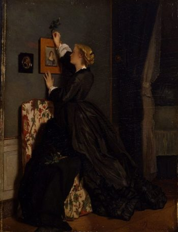 Palm Sunday | Alfred Stevens | oil painting