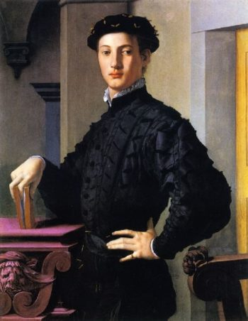 Portrait of a Young Man | Angnolo Bronzino | oil painting