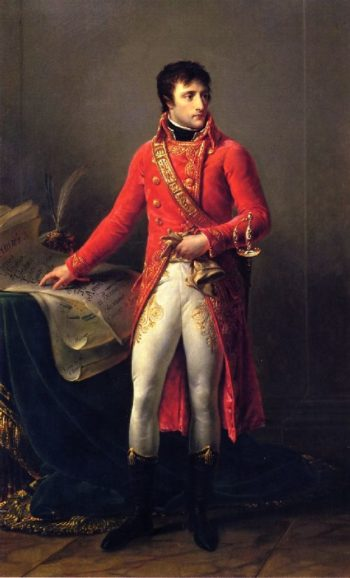 Bonaparte as First Counsul | Antoine Jean Gros | oil painting