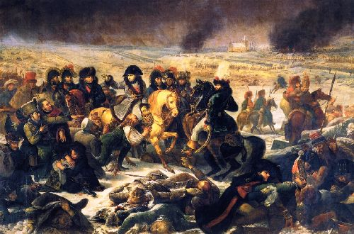 Napoleon on the Battlefield of Eylau | Antoine Jean Gros | oil painting