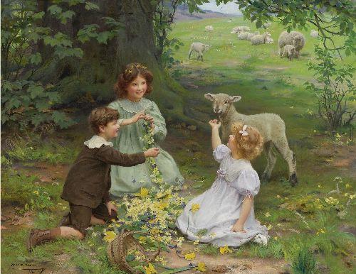 The Joy of Spring | Arthur John Elsley | oil painting