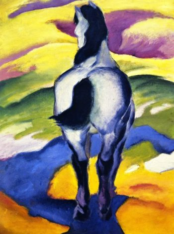 Blue Horse II | Franz Marc | oil painting
