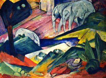 Dream | Franz Marc | oil painting