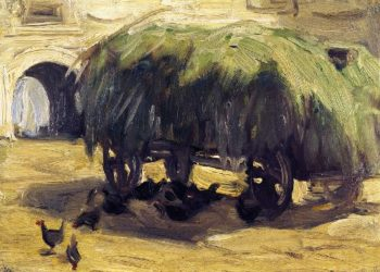 Hay Wagon | Franz Marc | oil painting