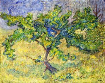 Little Oak Tree | Franz Marc | oil painting