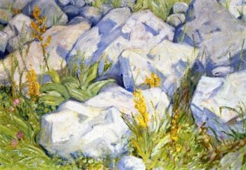 Little Study of Stones | Franz Marc | oil painting