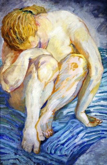 Nude Study | Franz Marc | oil painting