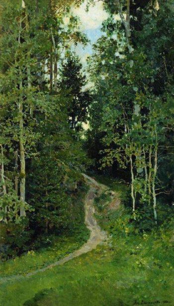 Osinki Abramtzevo 1886   Apollinaris M Vasnetsov   oil painting