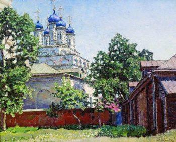 Trinity Church on Bersenevke 1922 | Apollinaris M Vasnetsov | oil painting
