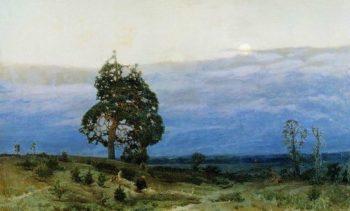 Twilight 1889 | Apollinaris M Vasnetsov | oil painting