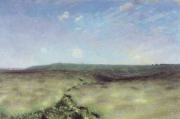 vibrant cornfield 1892 | Apollinaris M Vasnetsov | oil painting