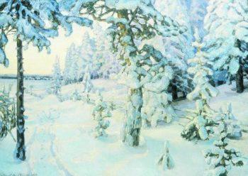 Winter Dream Winter 1908 1914 | Apollinaris M Vasnetsov | oil painting