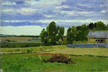 Yashkin house 1880 1886 | Apollinaris M Vasnetsov | oil painting