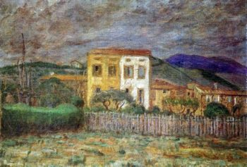 Maillol's House in the vicinity of Banyuls | Jozsef Rippl Ronai | oil painting