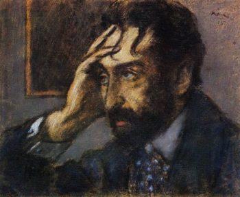 Portrait of Jozsef Vago | Jozsef Rippl Ronai | oil painting