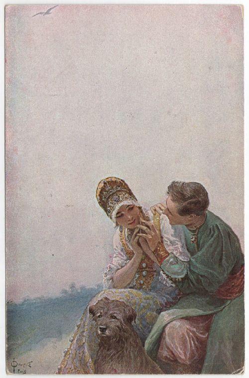Declaration of Love | Solomko Sergey Sergeyevich | oil painting