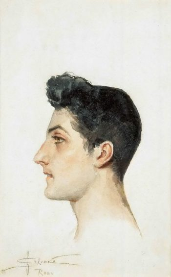 Portrait of an Italian boy | Solomko Sergey Sergeyevich | oil painting