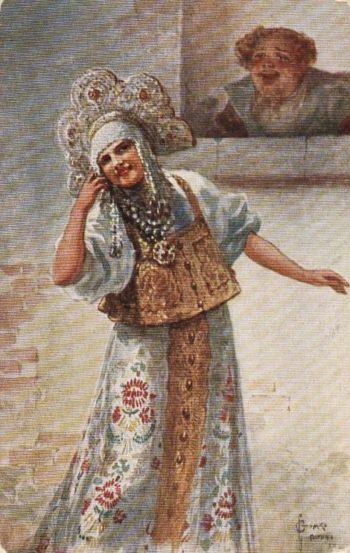 Shutnitsa   Solomko Sergey Sergeyevich   oil painting