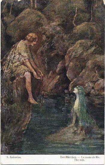 Story   Solomko Sergey Sergeyevich   oil painting