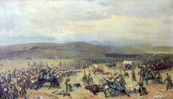 Last battle at Plevna November 28 1877 1889 | Nikolay Dmitriev Orenburgsky | oil painting
