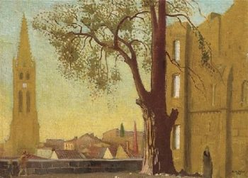 Avallon Paysage au Grand Arbre | Maurice Denis | oil painting