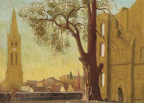Avallon Paysage au Grand Arbre | Maurice Denis | oil painting