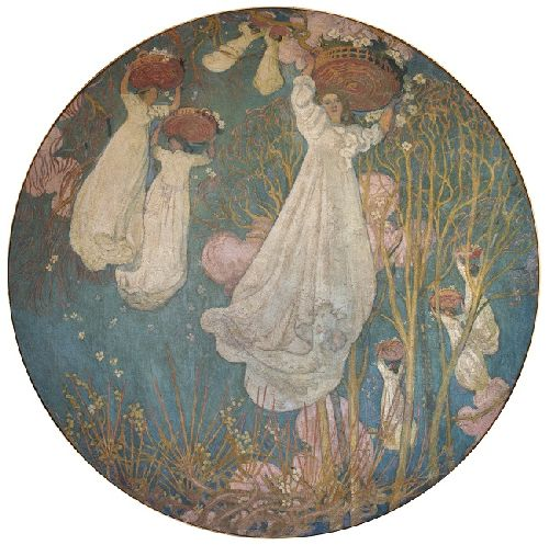 Avril | Maurice Denis | oil painting