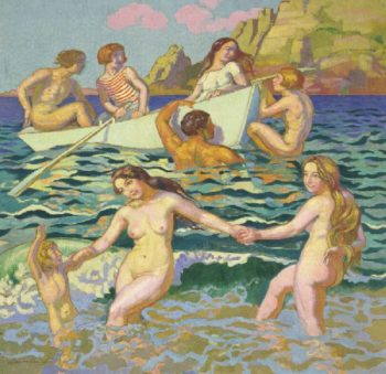 Bathing | Maurice Denis | oil painting