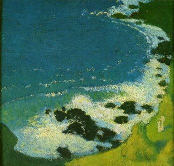 Bord de mer | Maurice Denis | oil painting