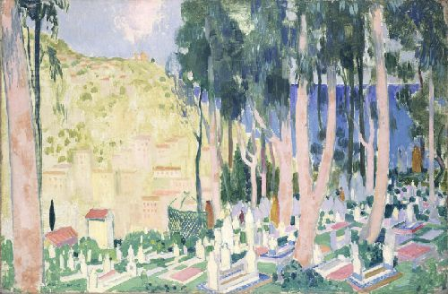Cemetery of El Keter | Maurice Denis | oil painting