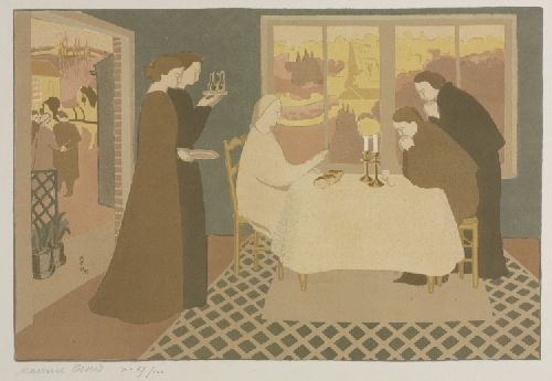 Christ at Emmaus | Maurice Denis | oil painting