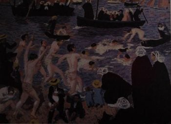 Course aux canards | Maurice Denis | oil painting