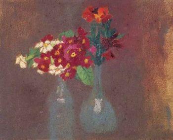 Deux bouquets de fleurs | Maurice Denis | oil painting
