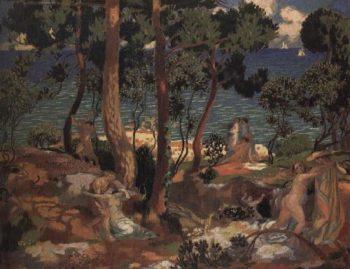 Euridice | Maurice Denis | oil painting