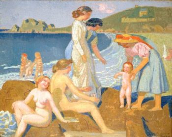 Female Bathers at Perros Guirec | Maurice Denis | oil painting