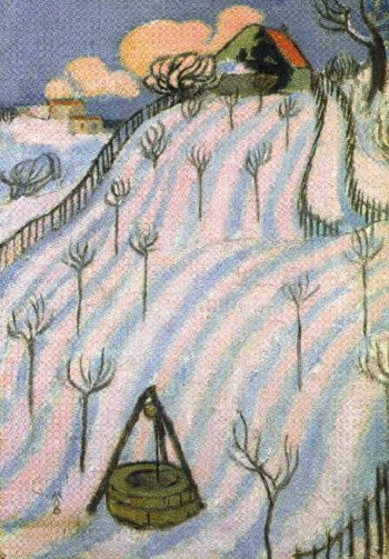 Furrows in the Snow | Maurice Denis | oil painting
