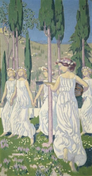 Girls Dancing | Maurice Denis | oil painting