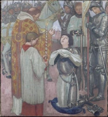 Joan of Arc | Maurice Denis | oil painting