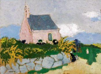 La Chapelle de Kernivinen | Maurice Denis | oil painting