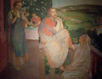 La meilleure part | Maurice Denis | oil painting