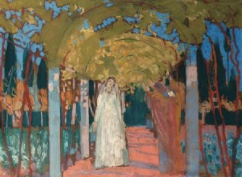 L'Annonciation a Fiesole | Maurice Denis | oil painting