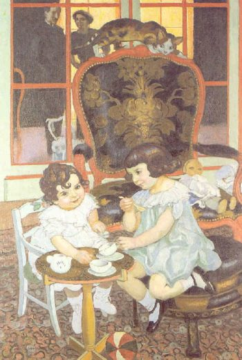 Le gouter | Maurice Denis | oil painting