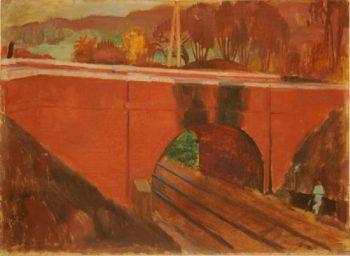 Le pont garde voie | Maurice Denis | oil painting