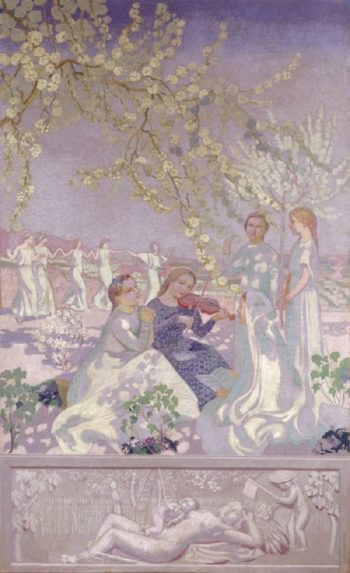 Les Musiciennes | Maurice Denis | oil painting