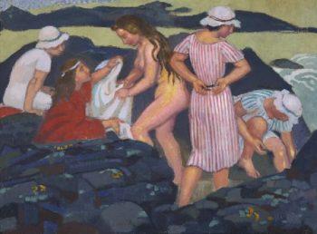 Les Roch Noires | Maurice Denis | oil painting