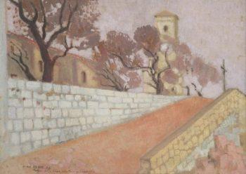 Le Suquet | Maurice Denis | oil painting