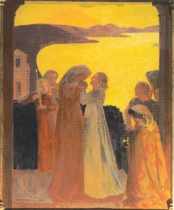 Magnificat | Maurice Denis | oil painting