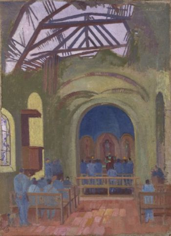 Messe a Verneuil | Maurice Denis | oil painting