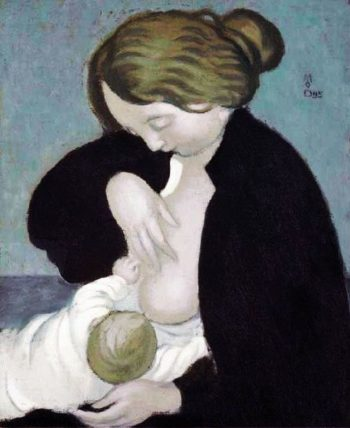 Mother and Child 1 | Maurice Denis | oil painting